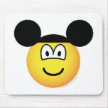 Disney world emoticon   mousepad