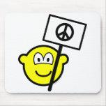 Ban the bomb buddy icon   mousepad