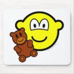 Teddy bear toy buddy icon   mousepad