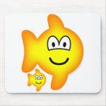 Pisces emoticon Zodiac sign  mousepad