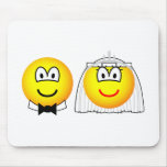 Royal wedding emoticon William and Kate  mousepad