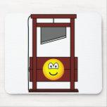 Guillotine emoticon   mousepad