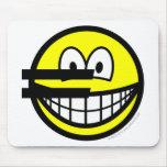 Euro symbol smile   mousepad