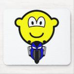 Pocket bike buddy icon   mousepad