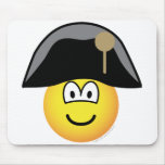 Napoleon Bonaparte emoticon   mousepad