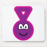 Teletubbie emoticon Tinky Winky  mousepad