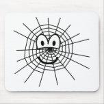 Spiderweb emoticon   mousepad