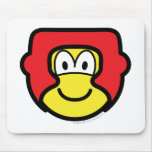 Sparring helmet buddy icon   mousepad
