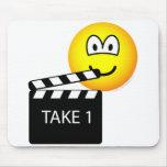 Film Marker emoticon   mousepad