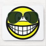 Aviators smile Sunglasses   mousepad