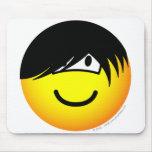 Emo emoticon   mousepad