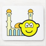 Mosque going buddy icon   mousepad