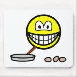 Frying smile   mousepad