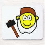 Grumpy buddy icon Seven Dwarves  mousepad