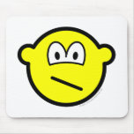 Confused buddy icon   mousepad