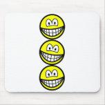 Acrobat smilies   mousepad