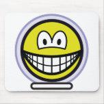 Space smile   mousepad