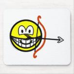 Sagittarius smile Zodiac sign  mousepad