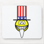 Uncle smile Join the smilies, Now!  mousepad