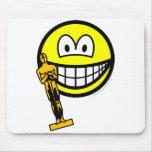 Oscar winning smile   mousepad