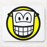 Masked smile Theatre  mousepad
