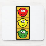 Traffic light buddy icon   mousepad