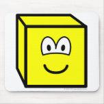 Cube buddy icon   mousepad