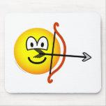 Sagittarius emoticon Zodiac sign  mousepad