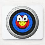 Target emoticon   mousepad