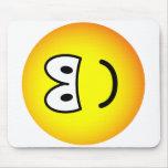 Fallen over emoticon Left  mousepad