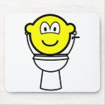 Toilet buddy icon   mousepad