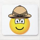 Tropical emoticon   mousepad