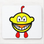 Chicken smile   mousepad