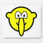 Big nosed buddy icon   mousepad