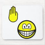 High five smile   mousepad