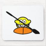 Kayak buddy icon   mousepad