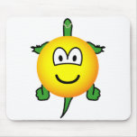 Turtle emoticon   mousepad