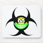 Biohazard smile version I  mousepad