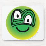 Chameleon emoticon   mousepad