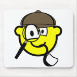 Sherlock Homes buddy icon   mousepad