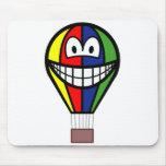Balloon smile Colorful  mousepad