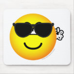 Bodyguard emoticon   mousepad