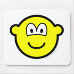 Edge less buddy icon   mousepad