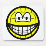 Volleyball smile   mousepad