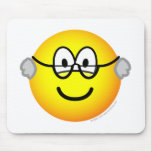 Grandpa emoticon   mousepad