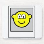 Polaroid buddy icon   mousepad