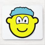 Shower cap buddy icon   mousepad
