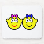 Twins buddy icon   mousepad
