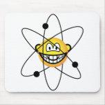 Atom emoticon   mousepad