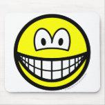 Basic smile   mousepad